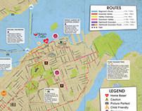 I Heart Bikes Map
