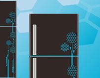 Refrigerator CMF design