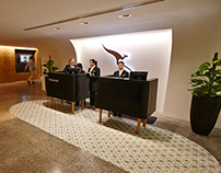 QANTAS Singapore Lounge