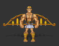 Game character Icarus