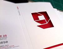 Brochure for Speakers at ARTEC 23 - Génese
