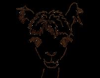 Alpi Naturo - logo for alpacas breeder & wool producer