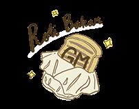 Branding Identlty - Roti Bakar GM