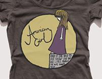 'American Girl' T-shirt