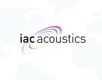 IAC Acoustics - Website Redesign