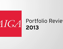 AIGA Portfolio review 2013