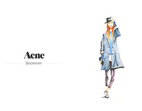 Acne Illustration