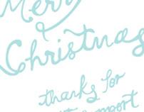 Plush Creative Christmas Card