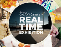 Samsung Real Time Exhibition. Galaxy Gamera.