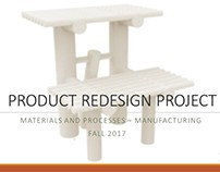 Product Redesign- Stepstool