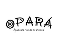 Criação de marca para projeto ambiental Opará