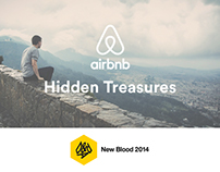 Airbnb hidden treasures - D&AD New Blood Entry 2015