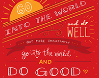 Go Do Good Print