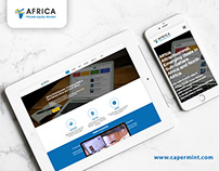 Africa Private Equity Website Design & Development