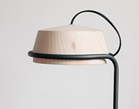 PUMPAL-Wooden Lamp for Desk