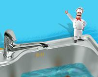 Anupam Sinks   Sink Creative Banner Design