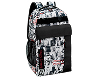 Rolling Stones backpack and case