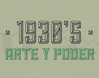 1930's- Arte y Poder