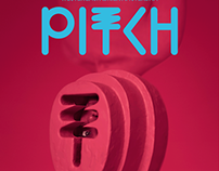 PITCH festival - Amsterdam - Mask design