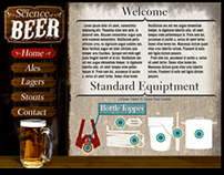 The Science of Beer (Flash AS3 Project)