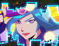 LEAGUE OF LEGENDS ULTRACOMBO / Arcade 2019 animated tra