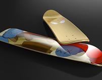 Kaws Skateboard