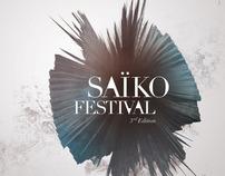 Saiko Festival Branding