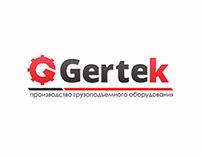 "Logo for the company's crane manufacturers' gertek """