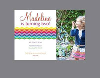 Madeline's Birthday Invite