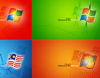 "Microsoft Windows 7 ""Malaysia & Me"" Theme Design"