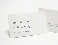 Min-Hui Chang's business card