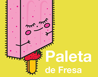 Character Design & Illustration Mexican Food Paletas