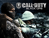 Hotsite Call of Duty: Black Ops