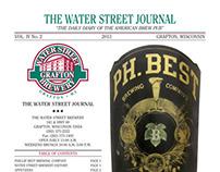 Water Street Brewery Menus Spring 2013