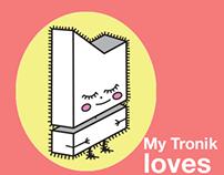 Character Design & Illustration My Tronik