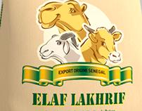 ELAF LAKHRIF packaging design