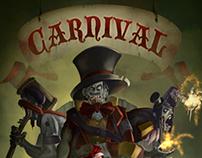 "Animated Illustration ""CARNIVAL"""