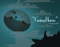 """Animated Illustration """"GOING HOME"""""""