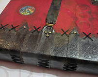 "Book of Shadows ""Aged Book"""