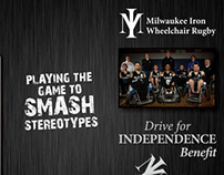 Milwaukee Iron Wheelchair Rugby Marketing