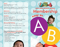 Betty Brinn Children's Museum Memberships