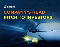 Company's head pitch to investors
