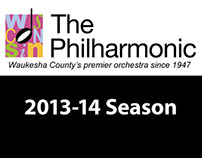 Wisconsin Philharmonic 2013 Season Brochure