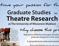 UW Madison Theatre Studies Pamphlet