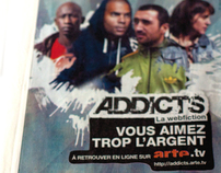 ADDICTS the webfiction by ARTE