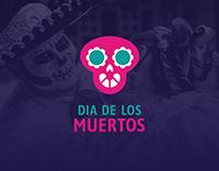 Dia de los Muertos 2019 - Festival Identity Design