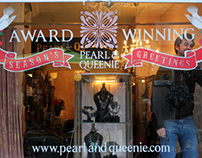 Pearl & Queenie (Christmas Window Display)