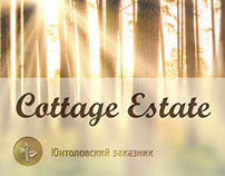 design of website for Cottage estate
