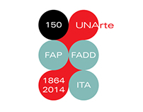 UNArte 150th Anniversary Identity System