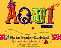 ☜ Spanischunterricht Marian Beaujon-Zumbraegel ☞